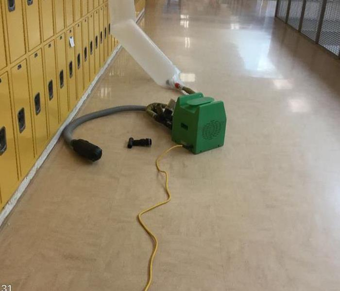Water loss at school in Vernonia, OR After