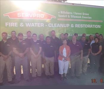 SERVPRO of Yamhill & Tillamook Counties team